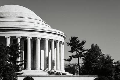 Photograph - Jefferson Memorial Building In Washington Dc by Brandon Bourdages