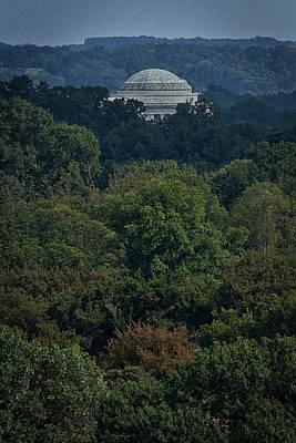 Photograph - Jefferson Memorial Dome by Stuart Litoff