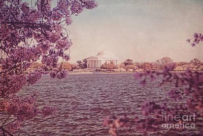 Jefferson Memorial During Spring Art Print