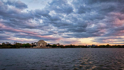 Photograph - Jefferson Memorial Dusk #2 by Stuart Litoff