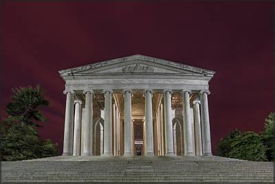 Photograph - Jefferson Memorial by Erika Fawcett
