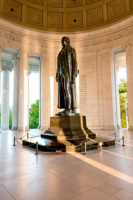 Jefferson Memorial Art Print by Greg Fortier