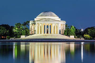 Photograph - Jefferson Memorial In Washington Dc by Mihai Andritoiu