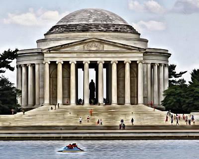 Jefferson Memorial Digital Art - Jefferson Memorial by Joe Paniccia
