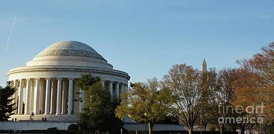 Washington Photograph - Jefferson Memorial by Megan Cohen