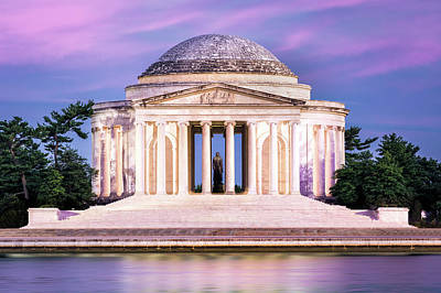 Photograph - Jefferson Memorial by Mihai Andritoiu