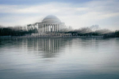 Photograph - Jefferson Memorial  by Nick Stone