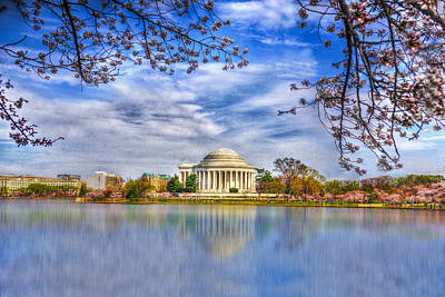 Thomas Jefferson Digital Art - Jefferson Memorial by Paul Wear