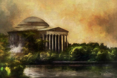 Photograph - Jefferson Memorial by Reynaldo Williams
