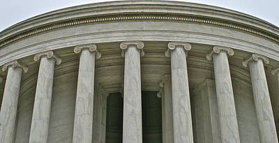 Photograph - Jefferson Memorial Up Close by Henri Irizarri
