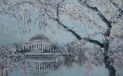 Jefferson Memorial Painting - Jefferson Memorial by Zoran Markovik