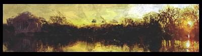 Jefferson Memorial Painting - Jefferson Rise by Reuben Cole