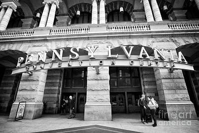 jefferson station entrance to pennsylvania convention center Philadelphia USA Art Print