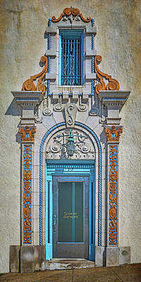 Photograph - Jefferson Street - Door And Window by Nikolyn McDonald