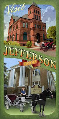 Jefferson, Texas Art Print