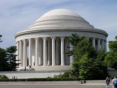 Jefferson Memorial Digital Art - Jeffferson Memorial by Sherry Leonard