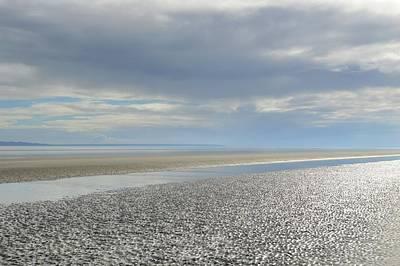 Dappled Light Photograph - Jekyll Coastline by Linda Covino