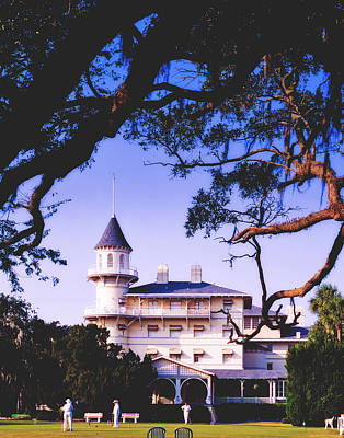 Photograph - Jekyll Island Clubhouse by Library Of Congress