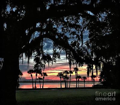 Photograph - Jekyll Island Georgia Sunset by Walt Foegelle