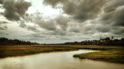 Photograph - Jekyll Island's Clam Creek by Greg Mimbs