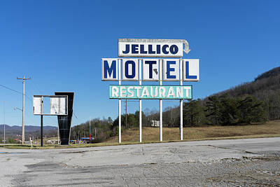 Photograph - Jellico Motel by Sharon Popek