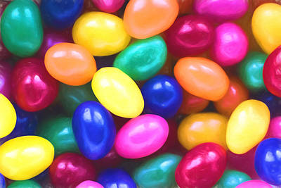 Jelly Beans Art Print by Terry DeLuco