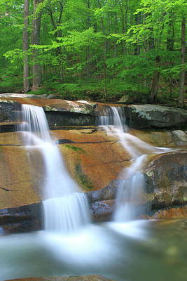 Photograph - Jelly Mill Falls Dummerston Vermont by John Burk