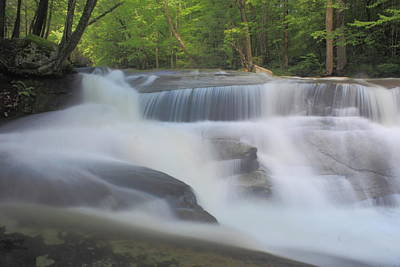 Photograph - Jelly Mill Falls High Water by John Burk