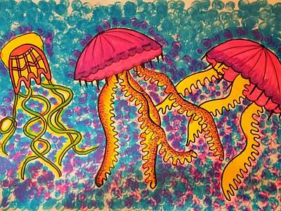 Painting - Jelly Tots by Vijay Sharon Govender