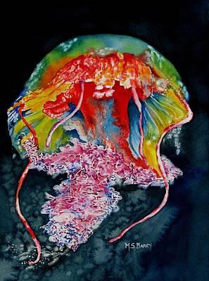 Jellyfish 2 Original by Maria Barry