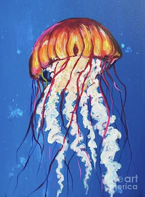 Painting - Jellyfish by Kim Heil