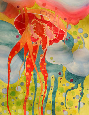 Painting - Jellyfish by Sherri Bails