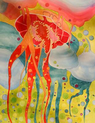 Painting - Jellyfish by Sherri Bails