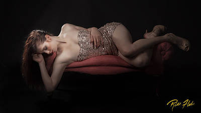 Photograph - Jem In Repose by Rikk Flohr