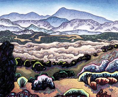 Jemez Mountains Art Print by Dale Beckman