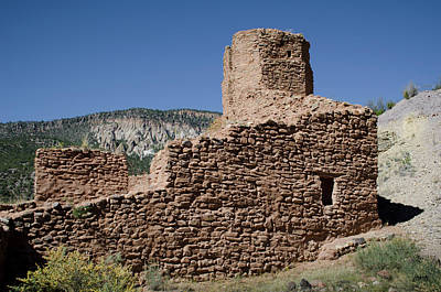 Photograph - Jemez State Monument Ruins by David Gordon