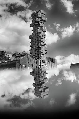 Photograph - Jenga Towers Among The Clouds by Cate Franklyn