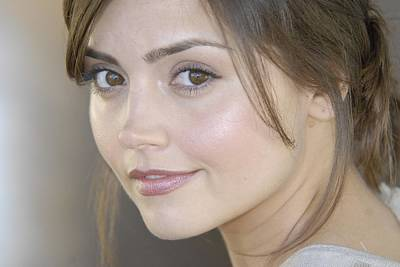 Digital Art - Jenna Coleman by Maye Loeser
