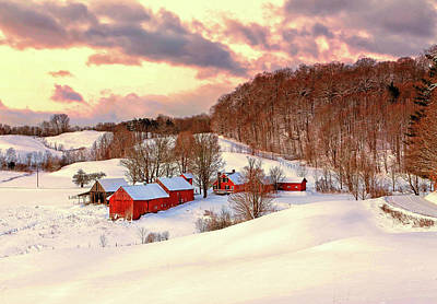 Photograph - Jenne Farm After The Storm by John Vose