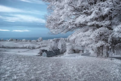 Photograph - Jenne Farm - Reading, Vermont by Joann Vitali