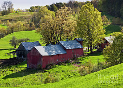 Photograph - Jenne Farm Spring Afternoon by Alan L Graham