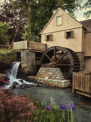 Photograph - Jenney Grist Mill by Robin-Lee Vieira