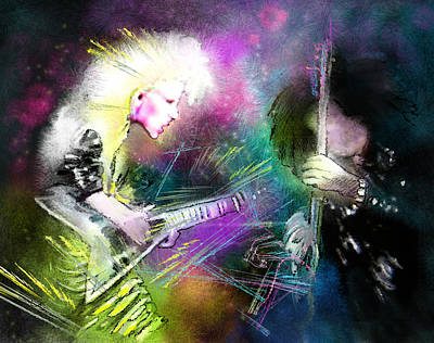 Michael Jackson Digital Art - Jennifer Batten by Miki De Goodaboom