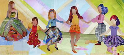 Dance Mixed Media - Jennifer Camila by Roxana Rojas-Luzon