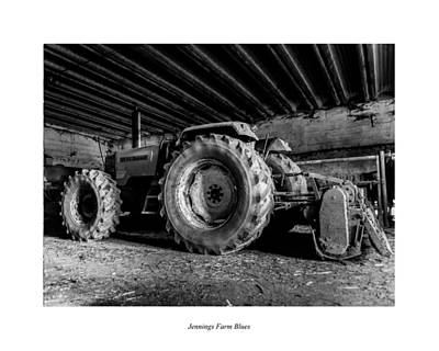 Photograph - Jennings Farm Blues by Joseph Amaral
