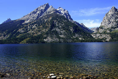 Photograph - Jenny Lake, Grand Teton National Park by Aidan Moran