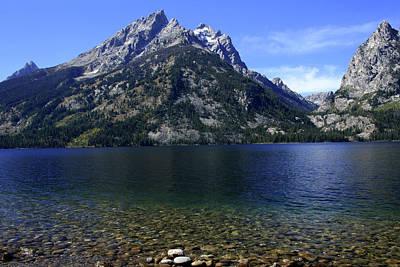 Photograph - Jenny Lake, Grand Teton National Park by Aidan Moran