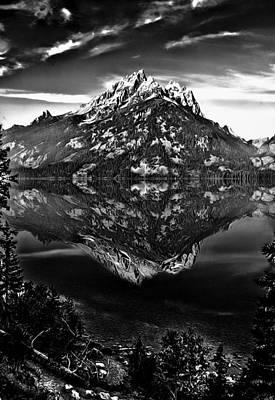 Photograph - Jenny Lake by Maria Coulson