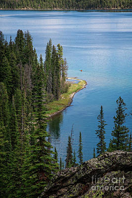 Photograph - Jenny Lake by Scott Kemper