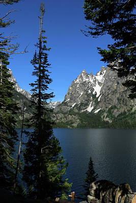 Photograph - Jenny Lake Serenity by Christiane Schulze Art And Photography